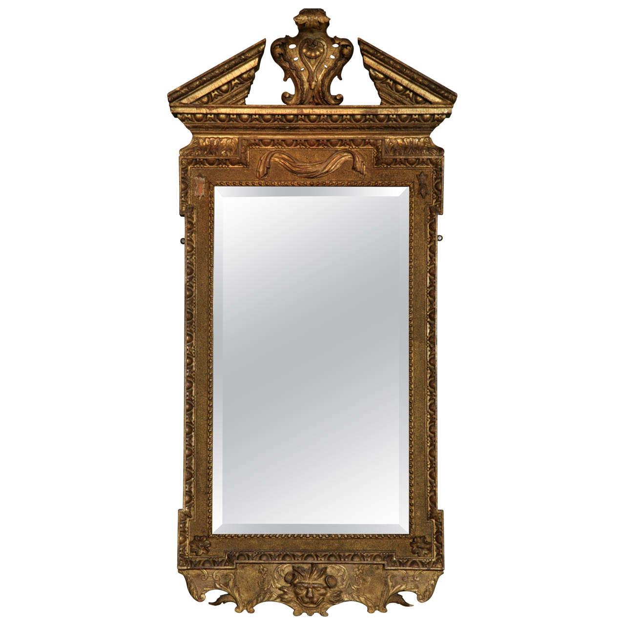 A George II Giltwood Pier Mirror