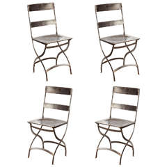 French Folding Bistro Chairs
