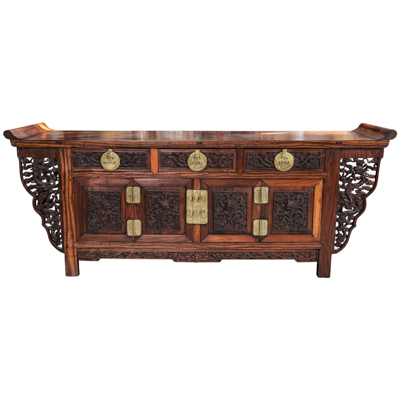 Antique Chinese Altar Table/ Coffer For Sale