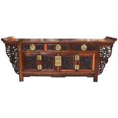 Antique Chinese Altar Table/ Coffer