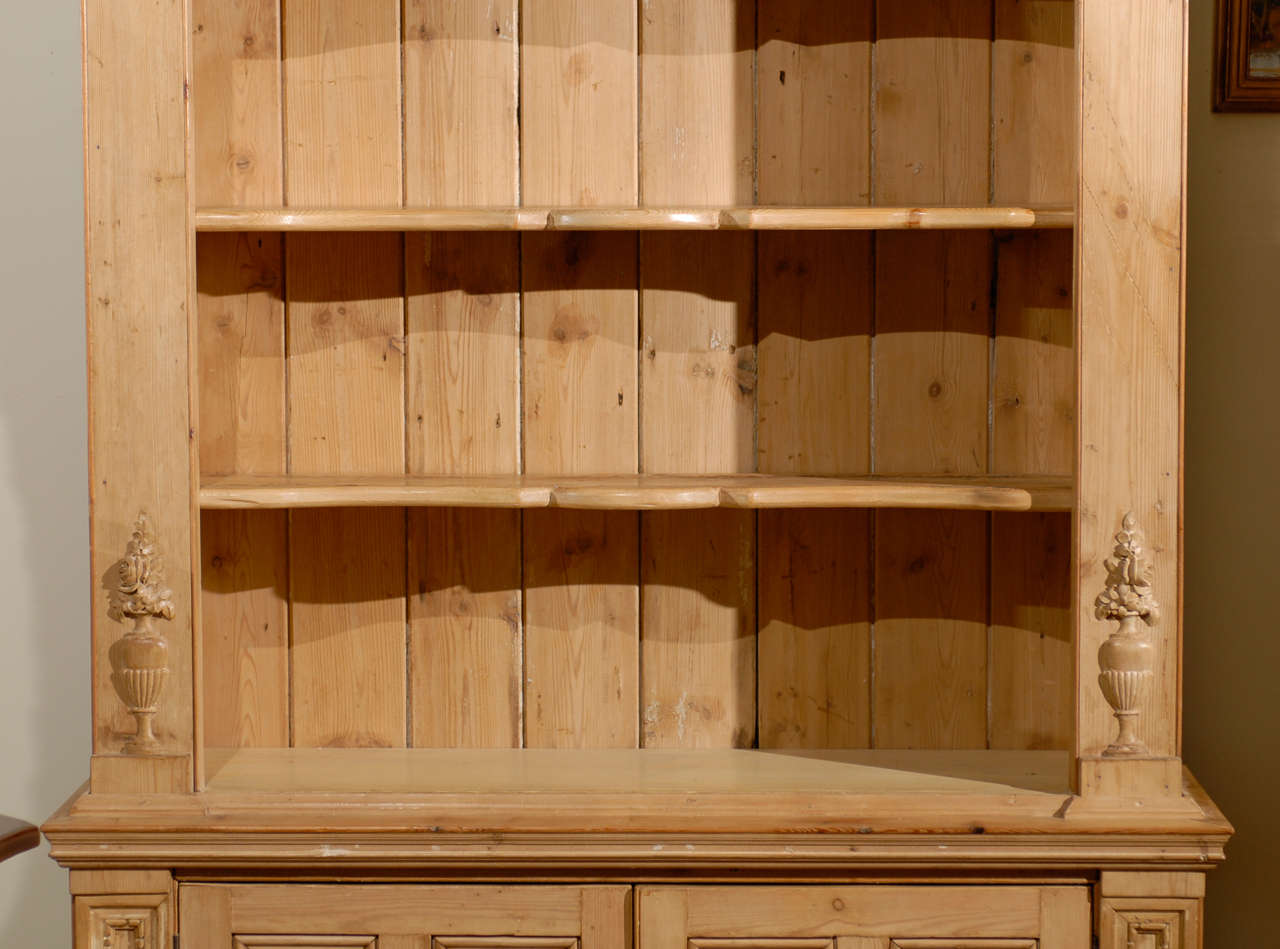 Superb img of English Pine Bookcase made from Reclaimed Wood at 1stdibs with #451903 color and 1280x949 pixels