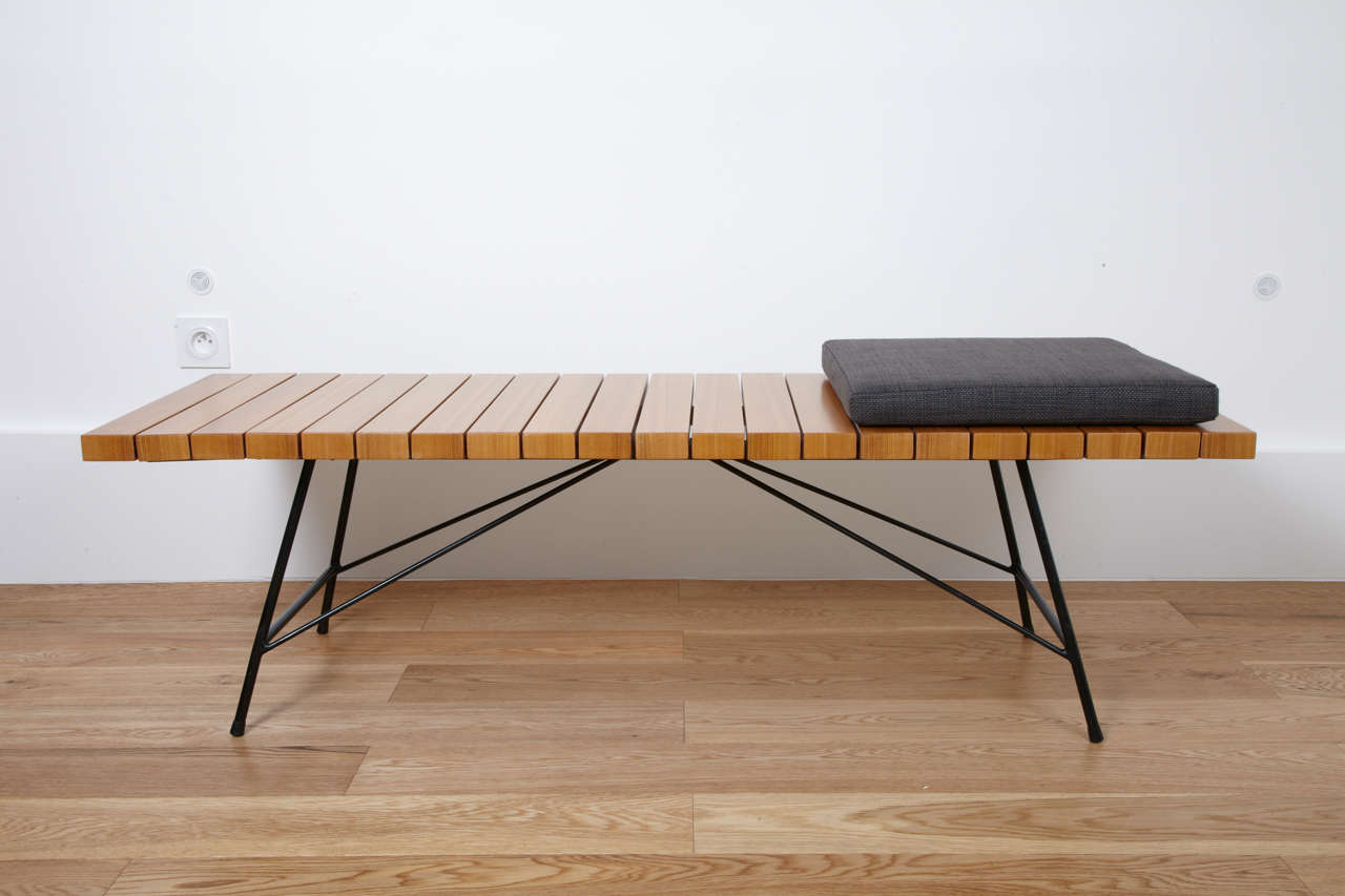 Bench Or Low Table 201 Alain Richard Meubles Tv Edition 1954 At 1stdibs