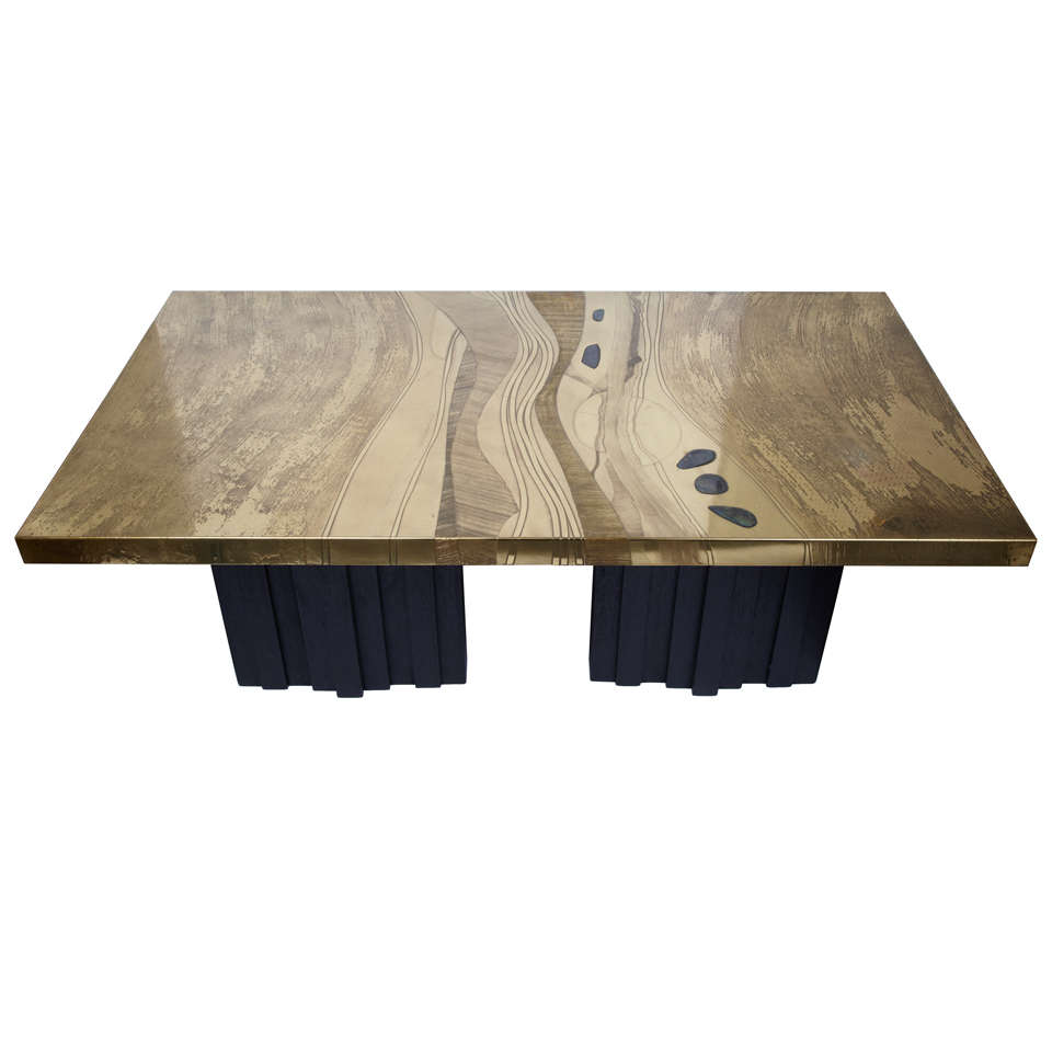 Extraordinary Coffee Table By Christian Kreckels At 1stdibs
