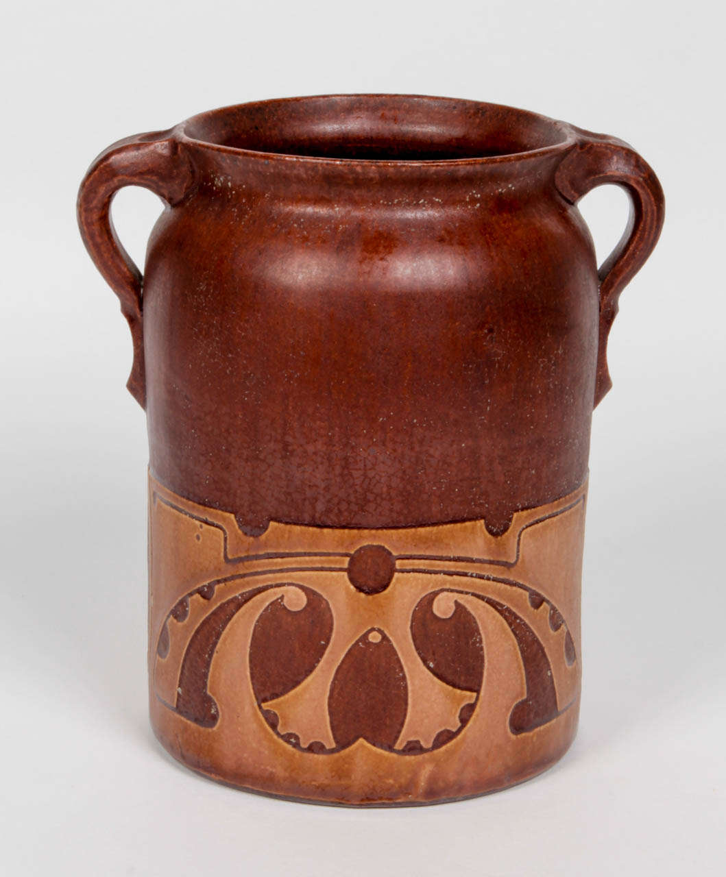 Willem brouwer dutch art nouveau or arts and crafts for Arts and crafts vases pottery