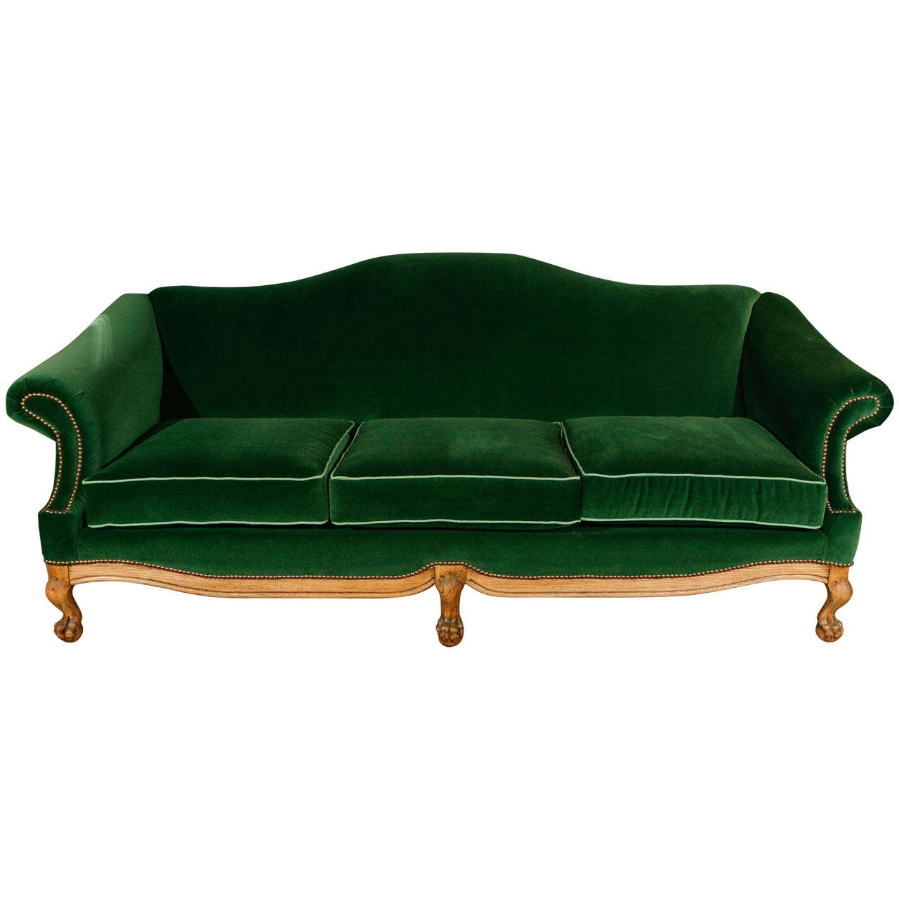 Queen Anne Camel Back Sofa At 1stdibs