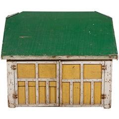Early 20th Century, Model Barn or Garage, circa 1910-1930