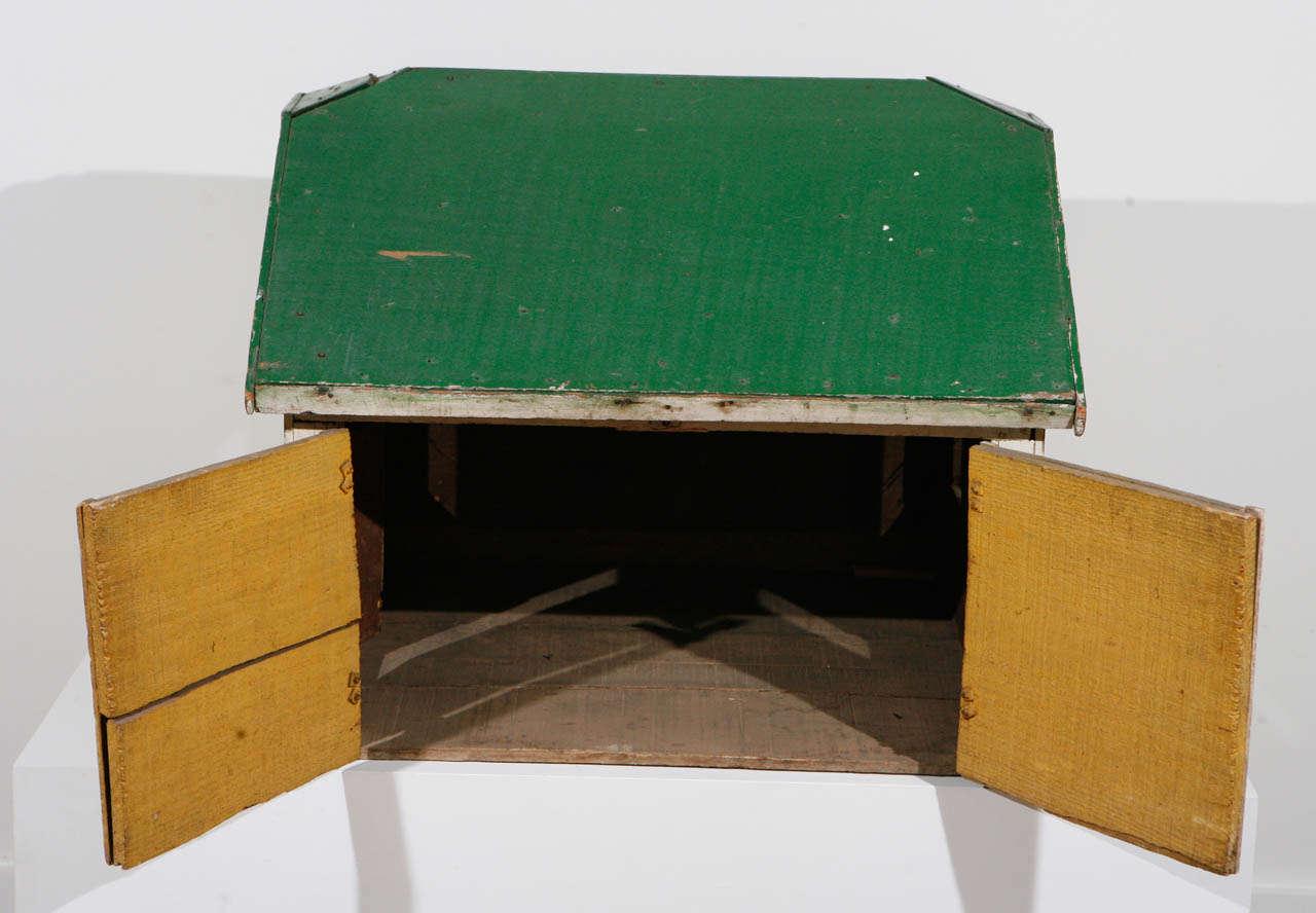 American Craftsman Early 20th Century, Model Barn or Garage, circa 1910-1930 For Sale