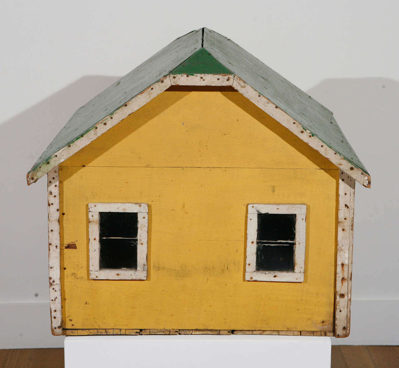Paint Early 20th Century, Model Barn or Garage, circa 1910-1930 For Sale