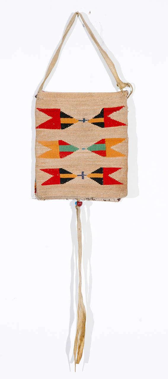 Native American Corn Husk Bag At 1stdibs