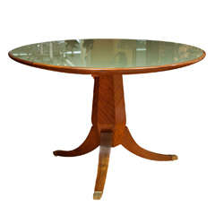 Striking French Art Deco Center Table