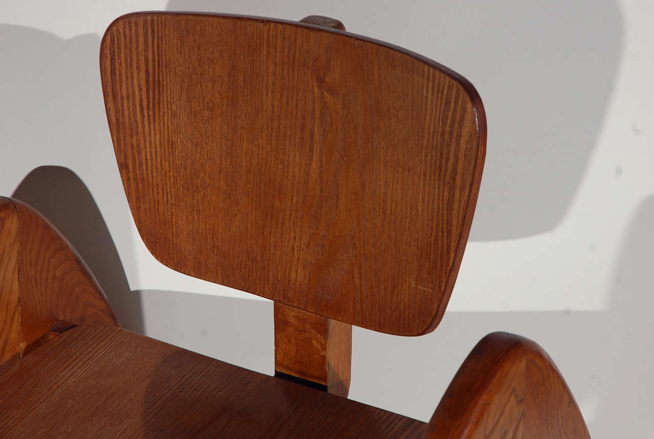 20th Century Stylized Modernist Side Chair  For Sale