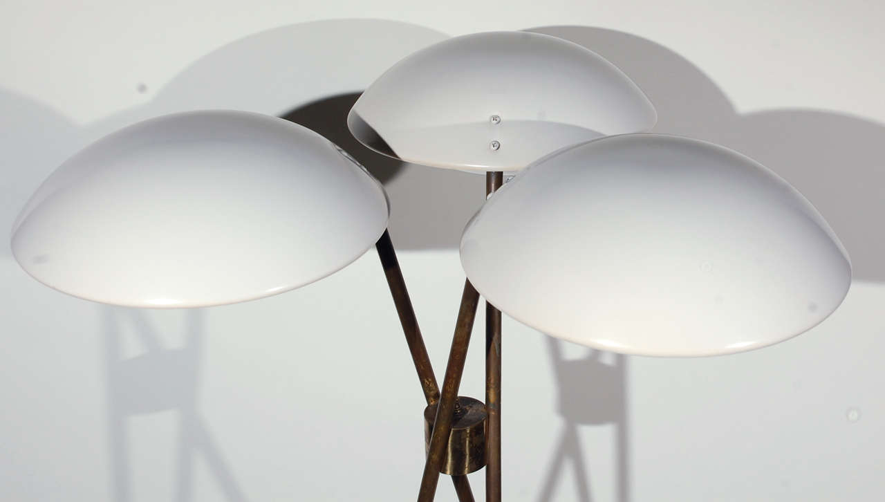 Gerald Thurston For Lightolier Floor Lamp At 1stdibs