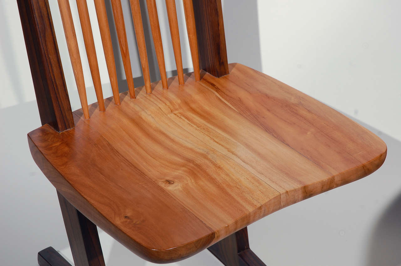 Set of Eight Dining Chairs In Excellent Condition For Sale In Los Angeles, CA