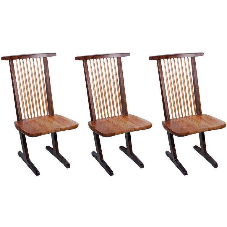 Set of Eight Dining Chairs For Sale