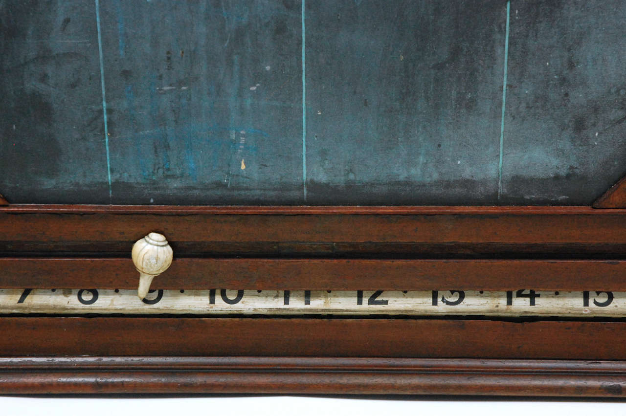 Slate Antique Billards, Snooker, Pool Score Board For Sale