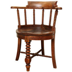 Mahogany Corner Chair