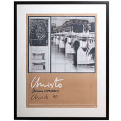 Framed Christo Poster