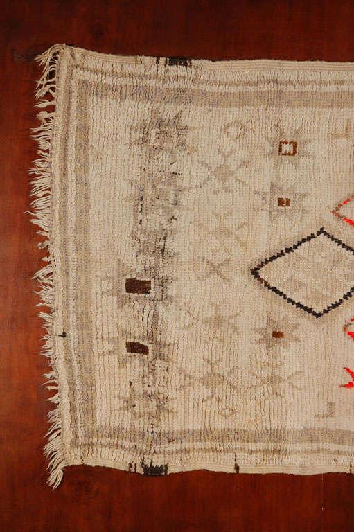 Vintage Moroccan Tribal Rug   image 3