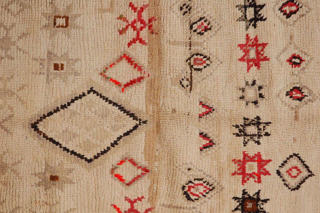 Vintage Moroccan Tribal Rug   image 4