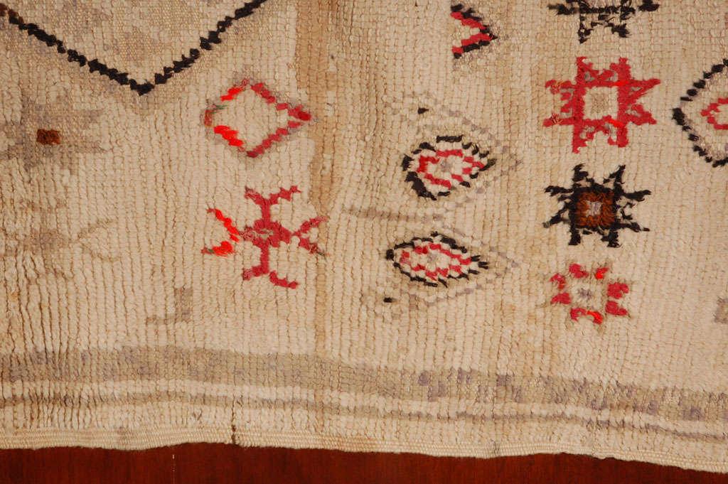 Vintage Moroccan Tribal Rug   image 6