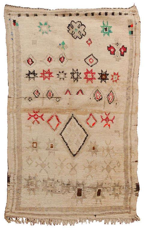 Vintage Moroccan Tribal Rug   image 2
