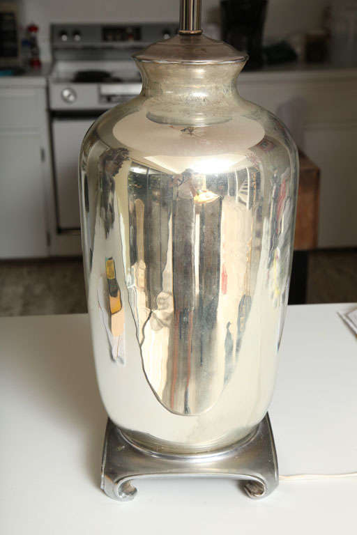 Vintage Mercury Glass Lamps At 1stdibs
