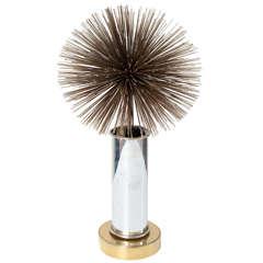 Spiky Pom Pom Lamp by C. Jere