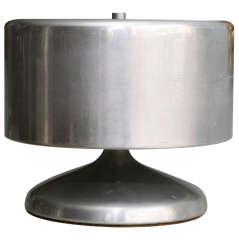 Cylindrical Aluminum Lamp