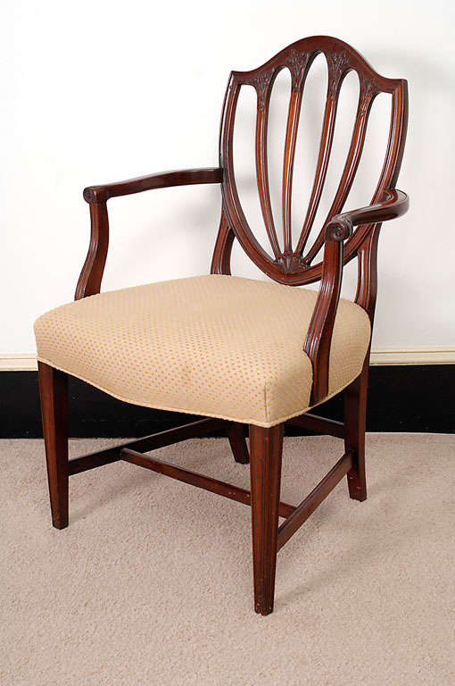 These Are Very Good Bench Made Chairs Styled After 18th Century Chairs, But  With Larger