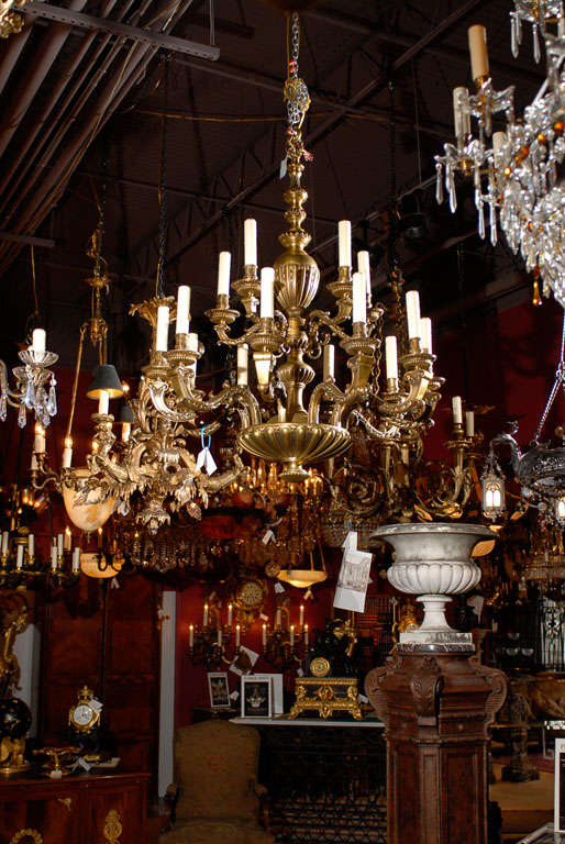 Antique Chandelier. Regence style chandelier For Sale 3