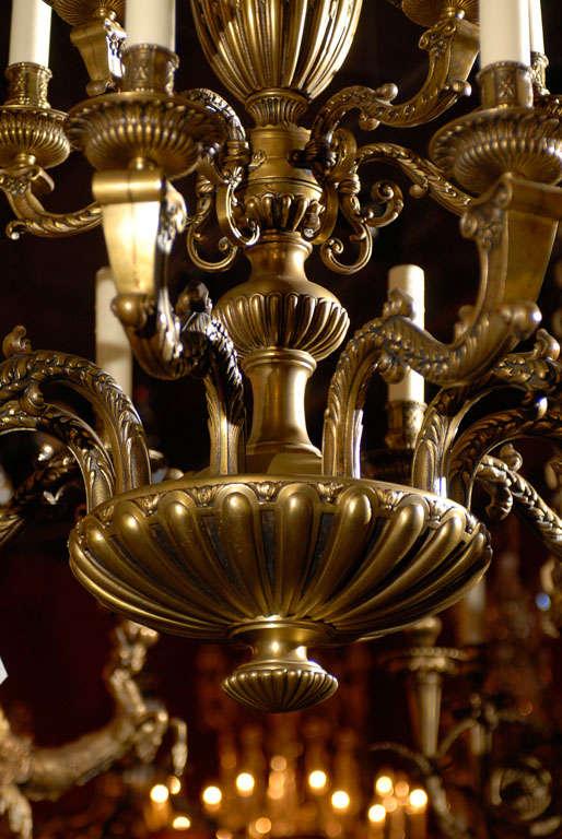 20th Century Antique Chandelier. Regence style chandelier For Sale
