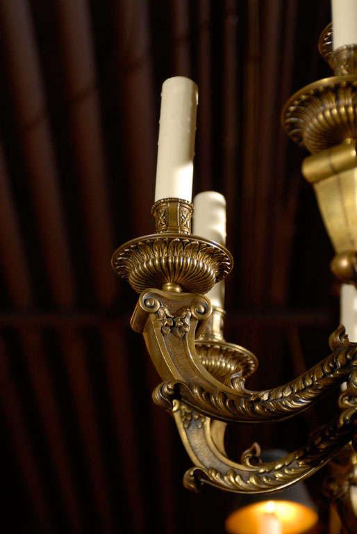 Antique Chandelier. Regence style chandelier For Sale 2