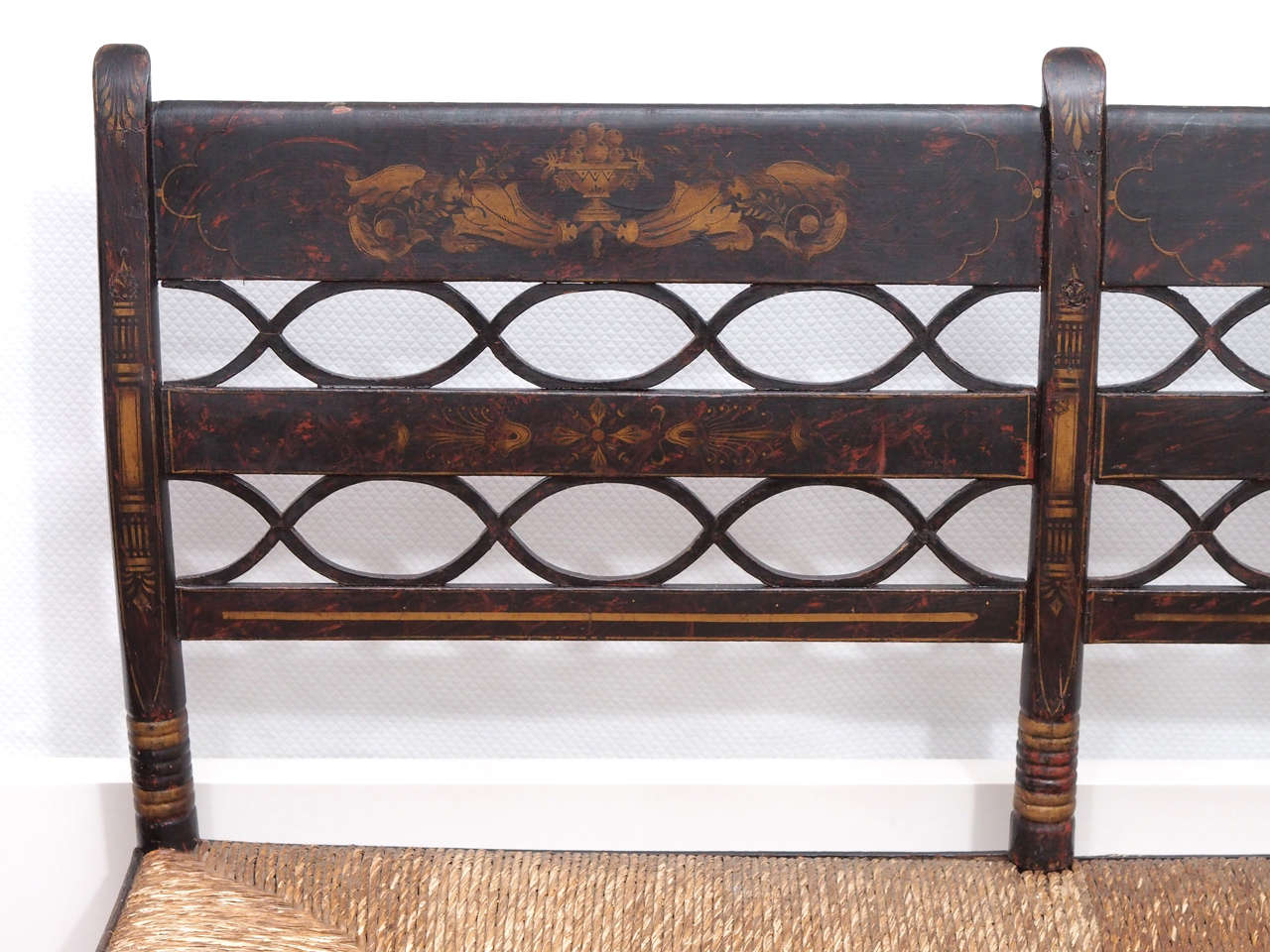 Early 20th Century American Painted Bench For Sale At 1stdibs