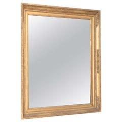 Napoleon Period Giltwood Mirror