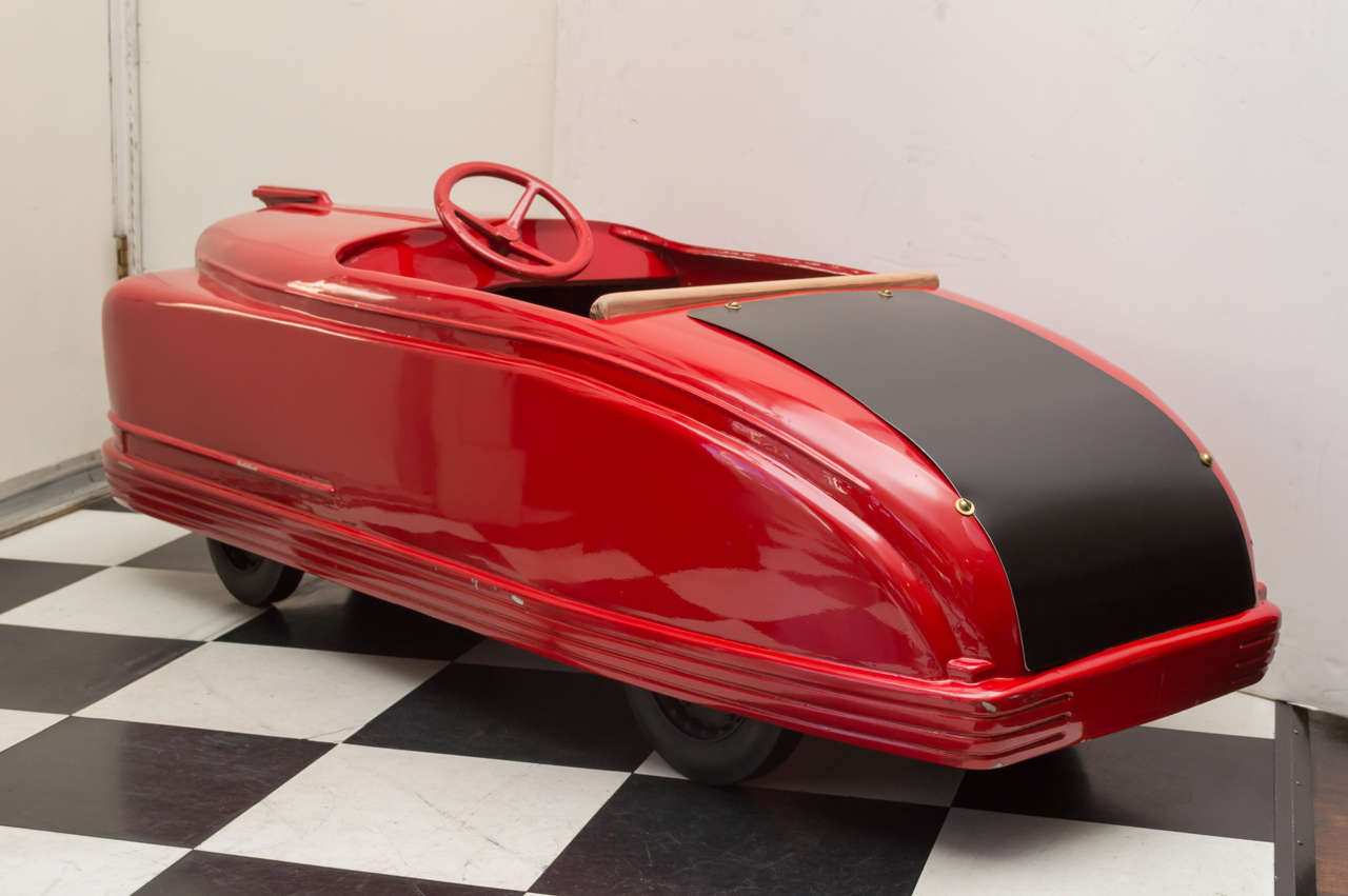 Late 1940s American Amusement Park Car Quot Little Red