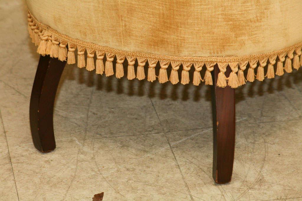 Victorian Tufted Armchair 2