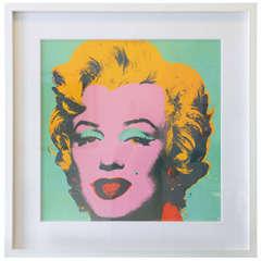 Marilyn Monroe Screen Print by Andy Warhol