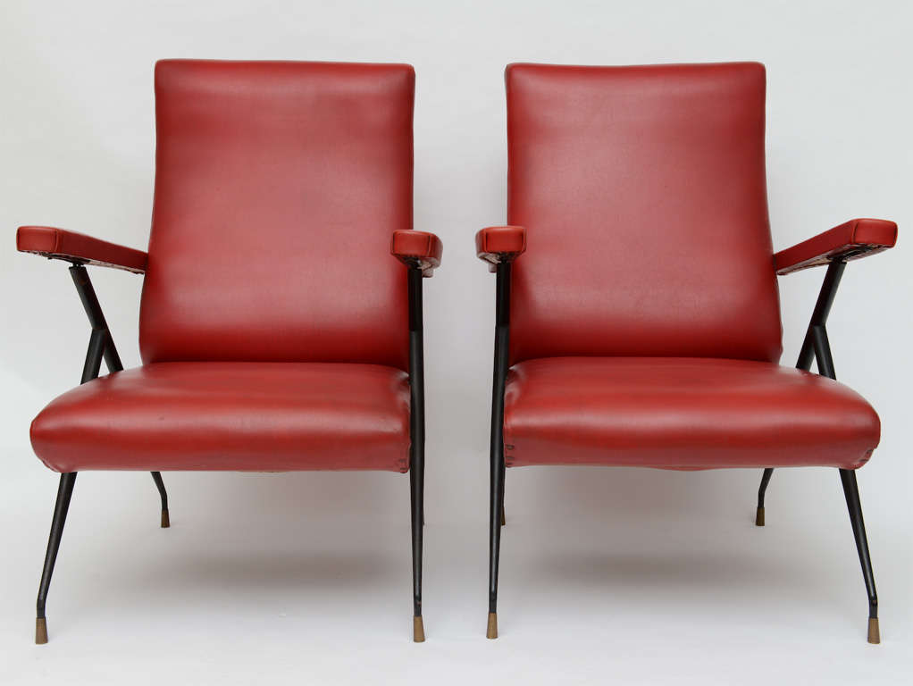 Mid-Century Modern Vintage Italian Reclining Chairs For Sale : italian recliner chairs - Cheerinfomania.Com