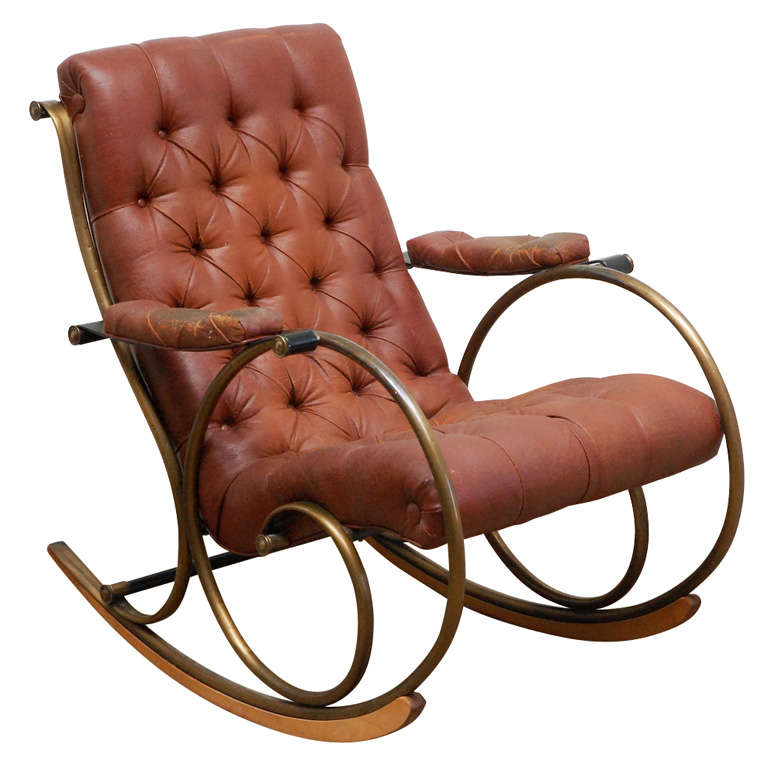 Lee Woodard Rocking Chair At 1stdibs