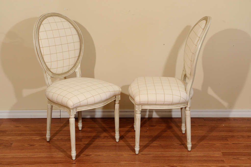 Louis XVI Style Dining Room Chairs At 1stdibs