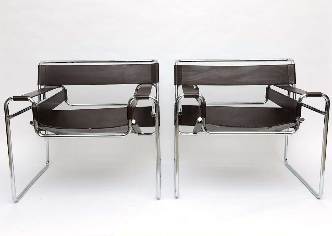 Marcel breuer wassily chair - Pair Of Vintage Knoll Marcel Breuer Wassily Chairs 2