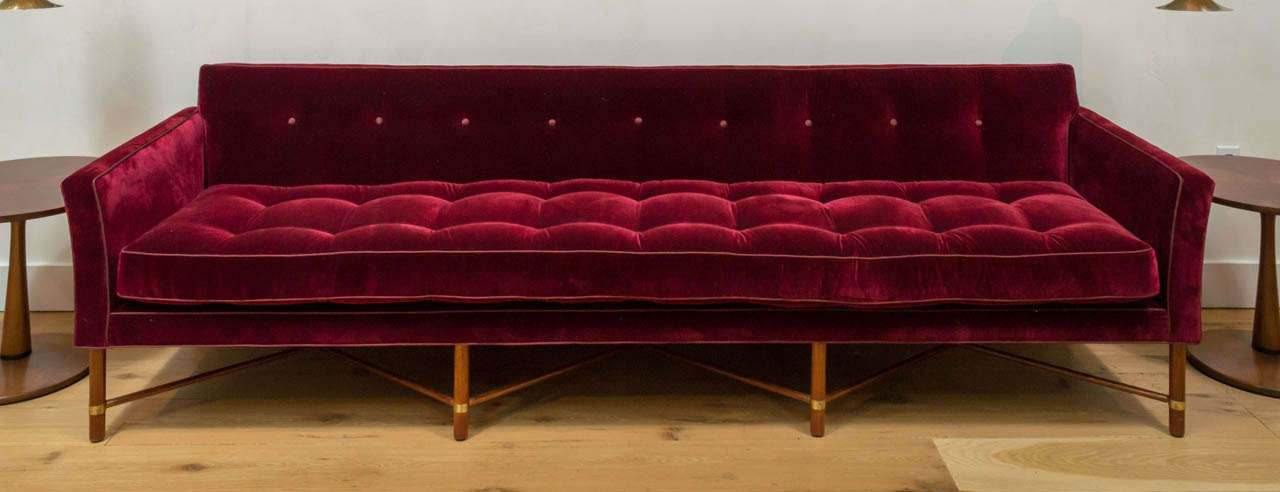Marvelous A Very Rare And Important Three Seater Sofa Designed By Harvey Probber For  Probber Inc.