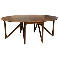 Kurt Ostervig Rosewood Dining Table