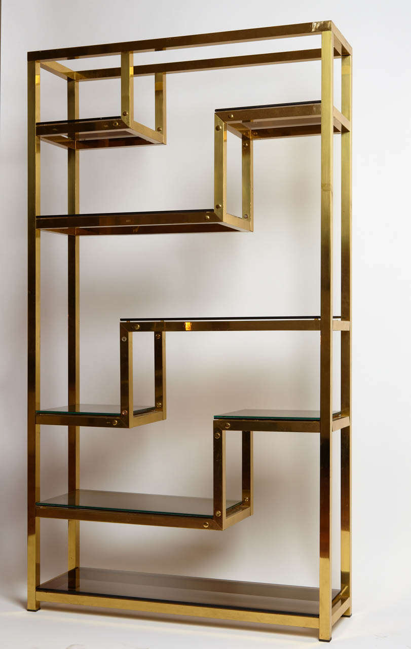 Golden bookshelf at 1stdibs Home design golden city furniture