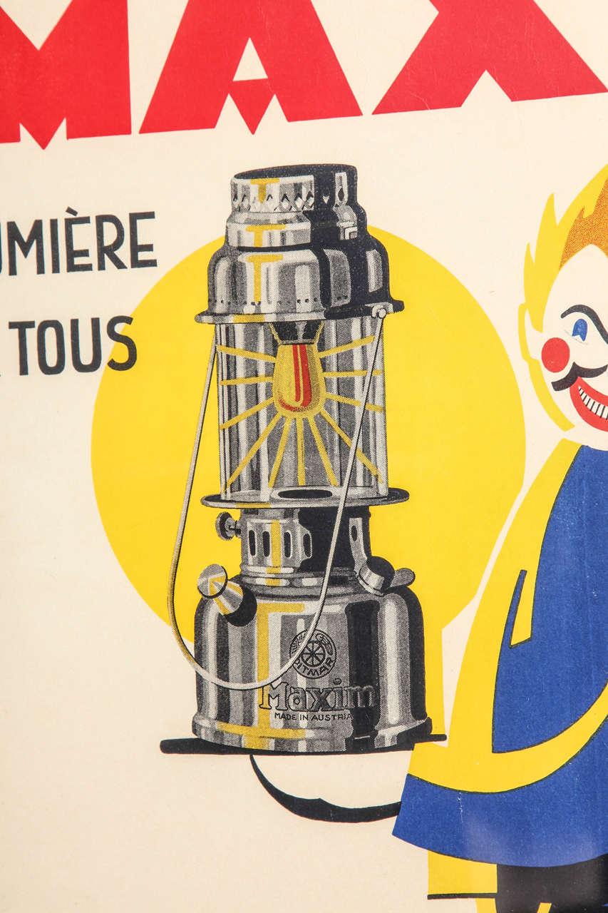 original deco poster for sale at 1stdibs