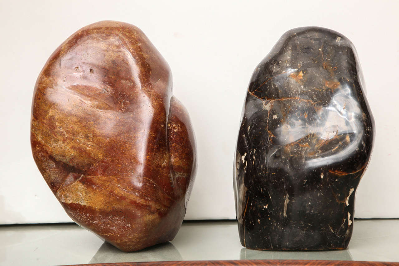 Polished stone sculptures for sale at stdibs