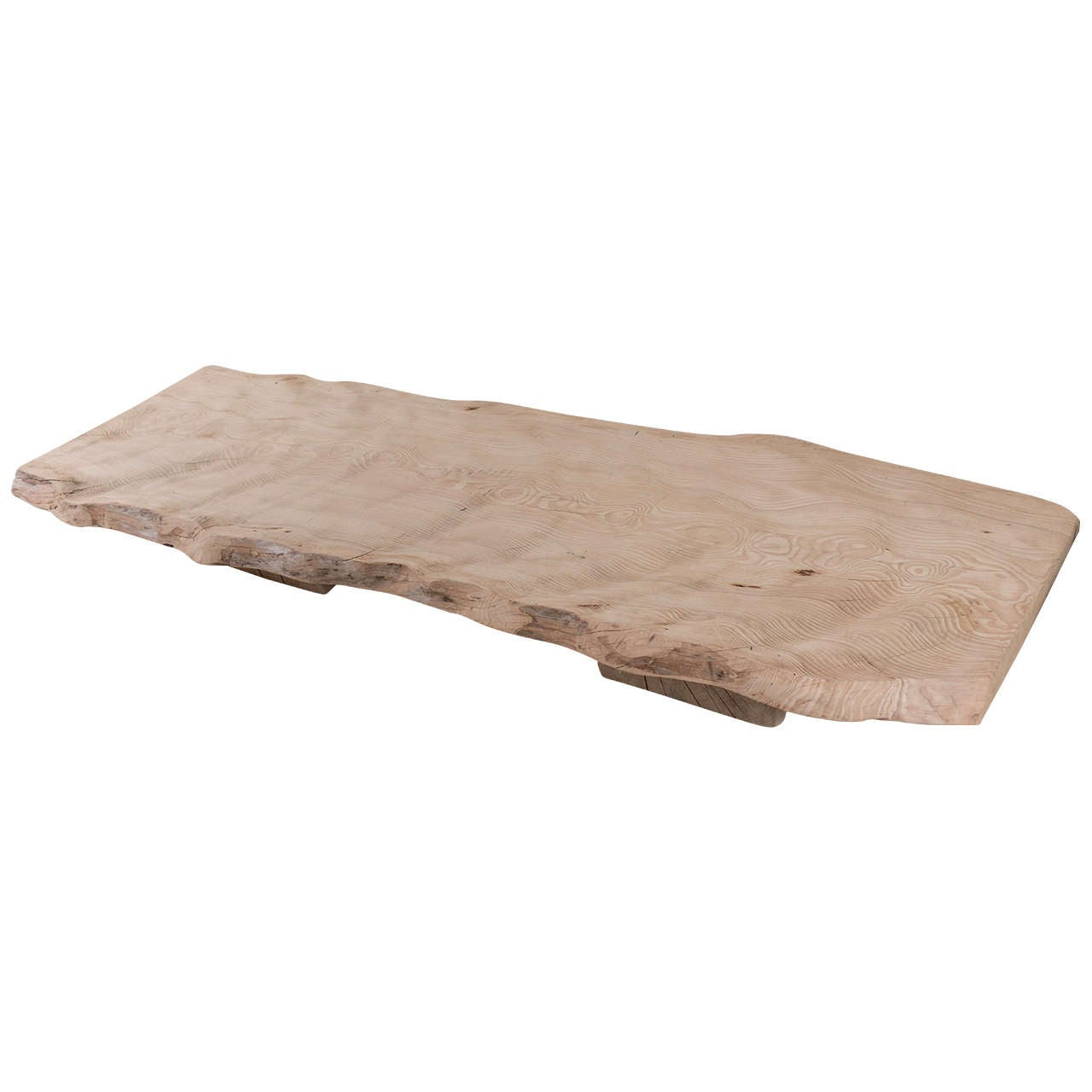 Massive Cedar Coffee Table At 1stdibs