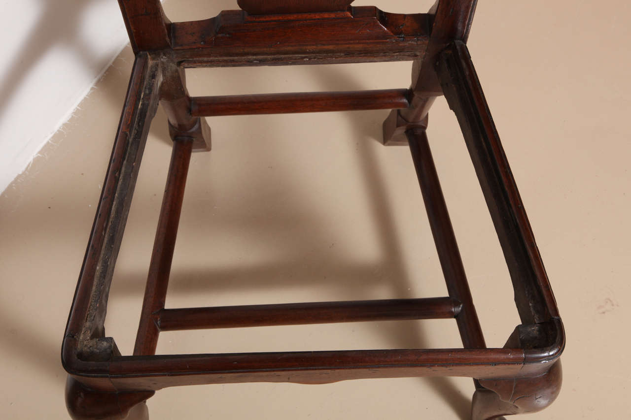 George III Mahogany Armchair in the Manner of Hepplewhite For Sale 5