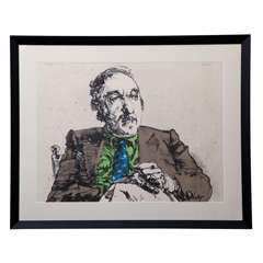 Harvey Breverman Lithograph