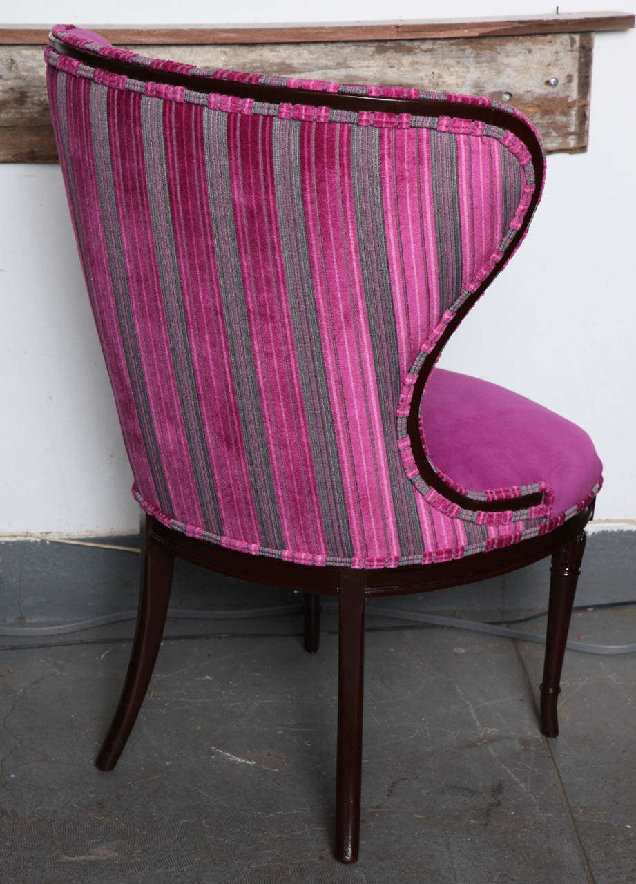Antique Hot Pink Victorian Chair At 1stdibs